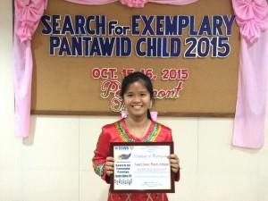 exemplary child 2015